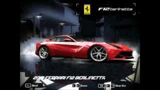 Need For Speed: Most Wanted: 2013 Ferrari F12 Berlinetta