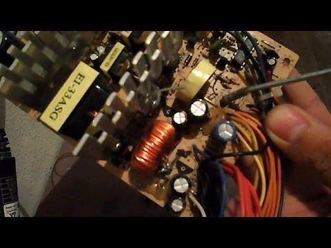 Carregador de bateria com fonte de pc tirando duvidas