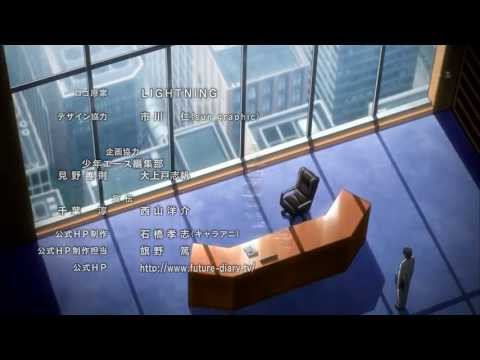 Mirai Nikki Ending 1 | HD, I like the ending song better. Mirai Nikki Ending | HD