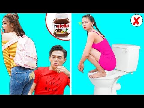 Girl DIY! 23 BEST FUNNY PRANKS ON FRIENDS | Funny DIY Pranks Compilation | Family Funny Pranks T-FUN