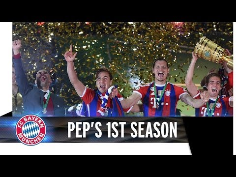 Pep's first season at FC Bayern