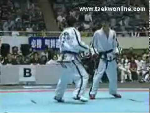 Itf taekwondo amazing knockout