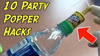 10 Awesome Party Popper Hacks That Will Amaze You - Household Life Hacks