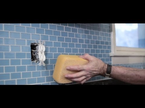 how to install a tile backsplash youtube