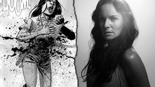 The Walking Dead HQ - Morte da Lori & Judith (& Alice) [HD]