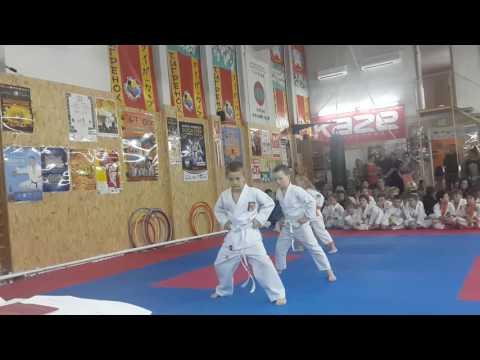 Аттестационный экзамен 29.05.2016 г. по каратэ в клубе Тигренок ч 4