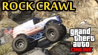 GTA 5 Off-Road 4x4 Rock Crawl In The Monster Truck
