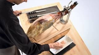 Aprende a cortar jamón en 3 minutos