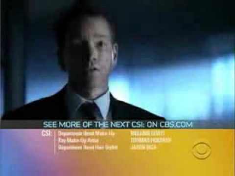 CSI Disarmed and Dangerous   Promo