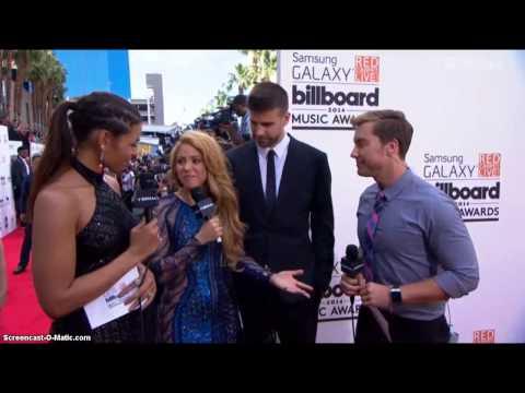 Entrevista a Shakira en la Alfombra Roja de los Billboard Music Awards