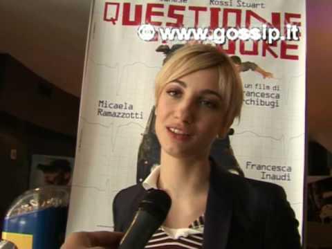 Francesca Inaudi: questioni di cuori
