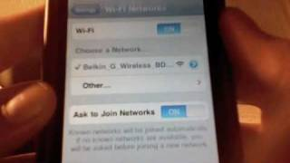 How To Connect To WiFi On IPod Touch/IPhone. (Updated