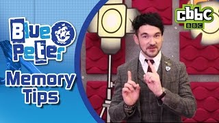 How to memorise anything - CBBC Blue Peter