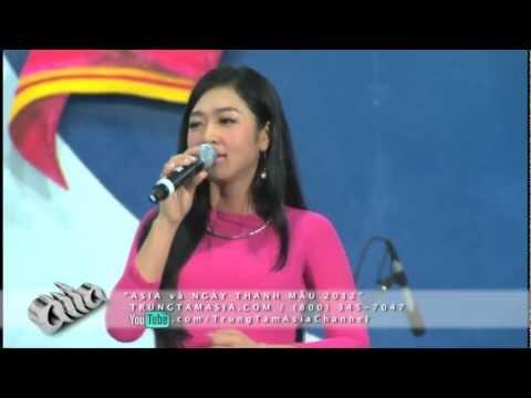 ASIA ONLINE : Hà Thanh Xuân hát live tại