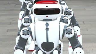 Dünya Rekoru Kıran Çinli Robot Bizi Çıldırttı! (Oğlum bak dur!)