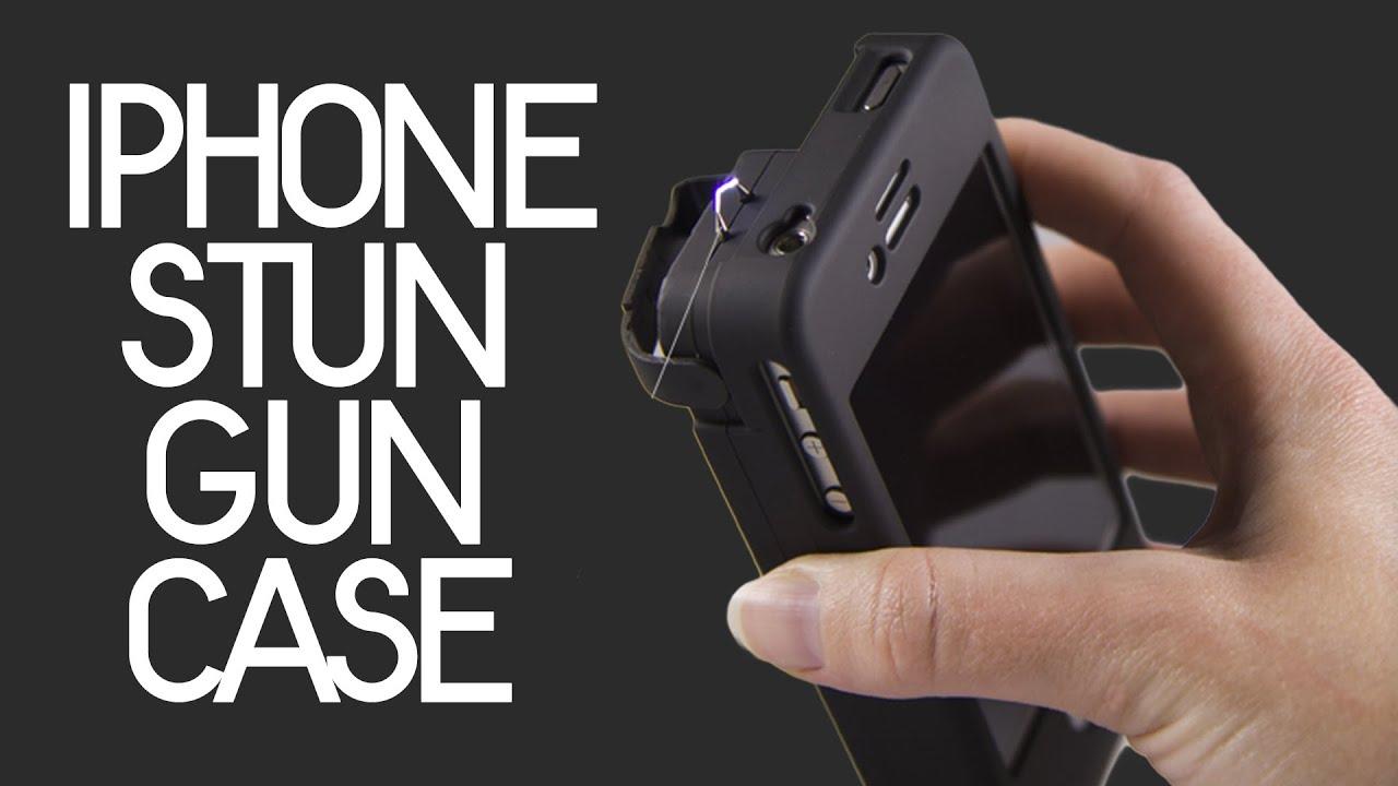 Yellow Jacket iPhone 4/4S STUN GUN Case