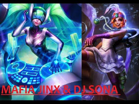 FULL GAMEPLAY DJ SONA & MAFIA JINX - RANKED GOLD - LOL