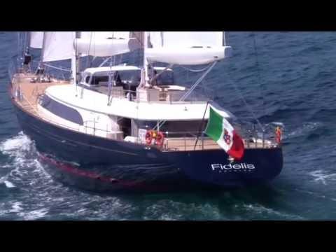 Sailing Yacht FIDELIS 56m 1080p HD - Perini Navi