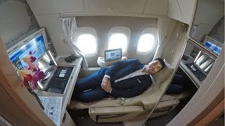 AMAZING! Emirates Game Changing B777 New First Class Suites!