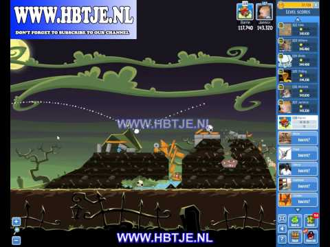 Angry Birds Friends Halloween Tournament Level 2 (tournament 2) no power-ups