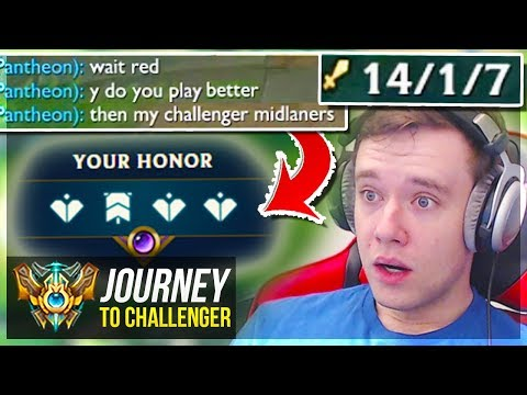 I'M 1v5'ING CHALLENGERS WITH THIS CHAMP!!!!!!!! - Journey To Challenger | League of Legends