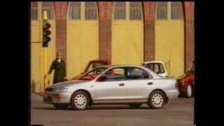Mazda 323 Protege Australian TV ad (1994)
