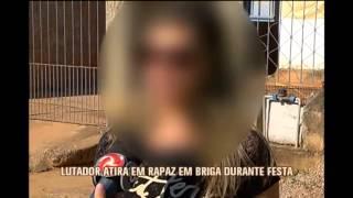 Lutador atira em rapaz durante confus�o em festa em Matias Barbosa
