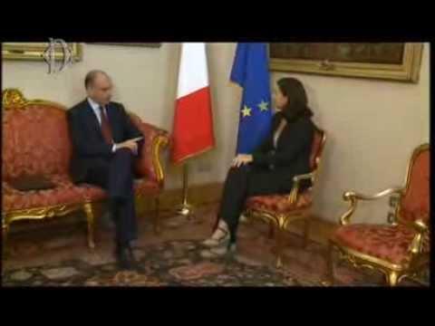 Camera. Boldrini incontra Enrico Letta