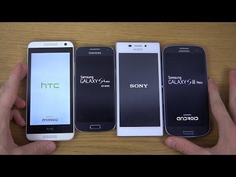 Samsung Galaxy S3 Neo vs. HTC Desire 610 vs. Sony Xperia M2 vs. Galaxy S4 Mini - Which Is Faster?