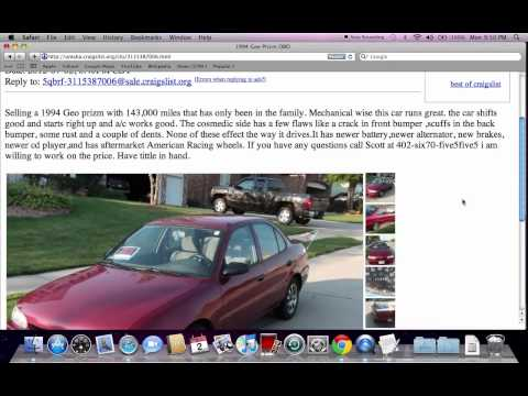 Craigslist Cars for Sale by Owner PlayList