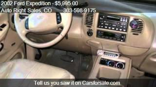 2002 Ford Expedition Eddie Bauer 4WD For Sale In