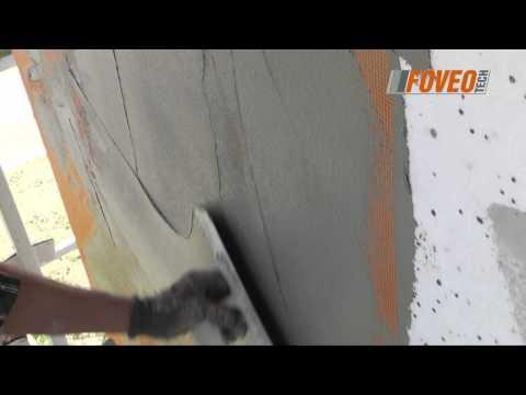 Foveo Tech -  ocieplanie budynku, wykonywanie warstwy zbrojonej