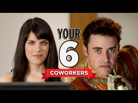 여섯가지 직장 동료 유형 - 영어 원어민들이 자주 쓰는 영어