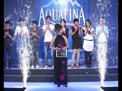 Phóng sự chung kết cuộc thi Aquafina pure fashion 2010