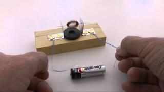 Basit Elektrik Motoru Yapılışı