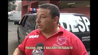 Policial civil � baleado no Bairro Cai�ara em BH