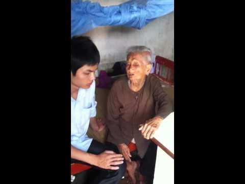 Bà Cụ Mù Ăn Xin ở Vũng Tàu