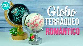Globo terráqueo romántico