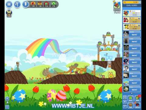 Angry Birds Friends Tournament Level 1 Week 100 (tournament 1) no power-ups