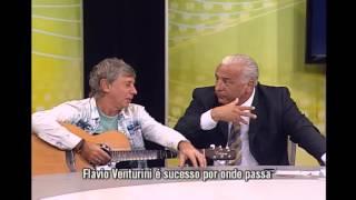 TV Verdade recebe Fl�vio Venturini e brinca de 'Qual � a m�sica?'