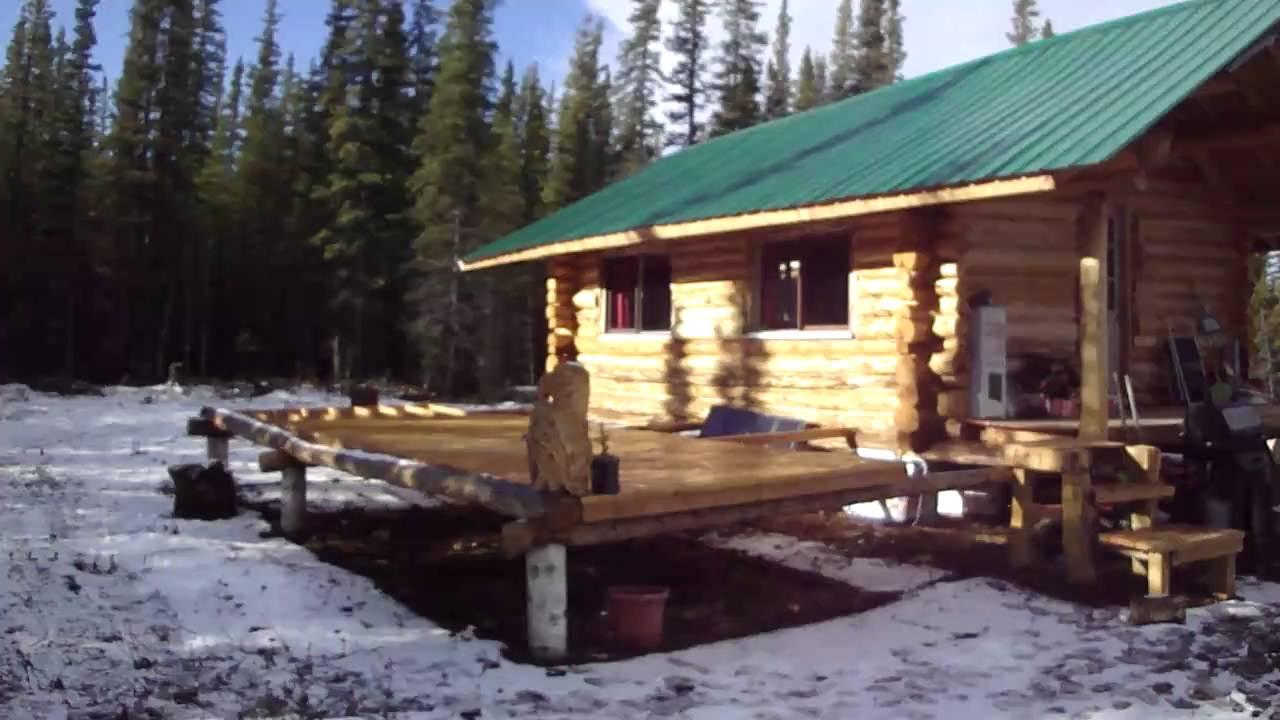 Alaskan Hand Built Cabin Youtube