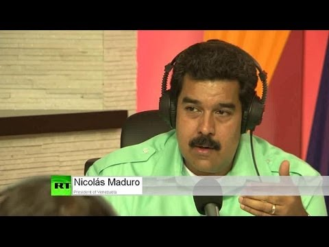 Venezuelan president Nicolás Maduro blames US and Europe for Ukraine turmoil