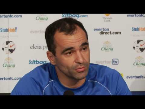 Roberto Martinez's pre-Stevenage press conference