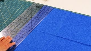 How To Use Rotary Ruler & Cutting Mat Quilting