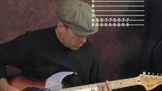 Slide blues guitar lesson in open D tuning ala Elmore James Jeremy Spencer