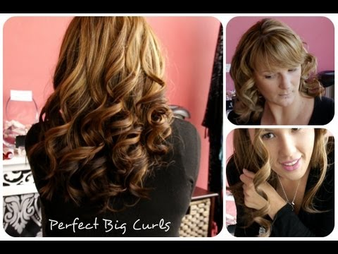 Curls without the GHD! Remington Perfect Big Curls