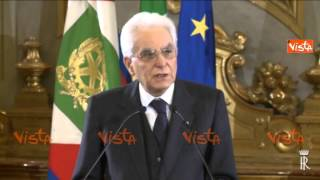 MATTARELLA SERVE PIU SOLIDARIETA IN UE 20-04-15