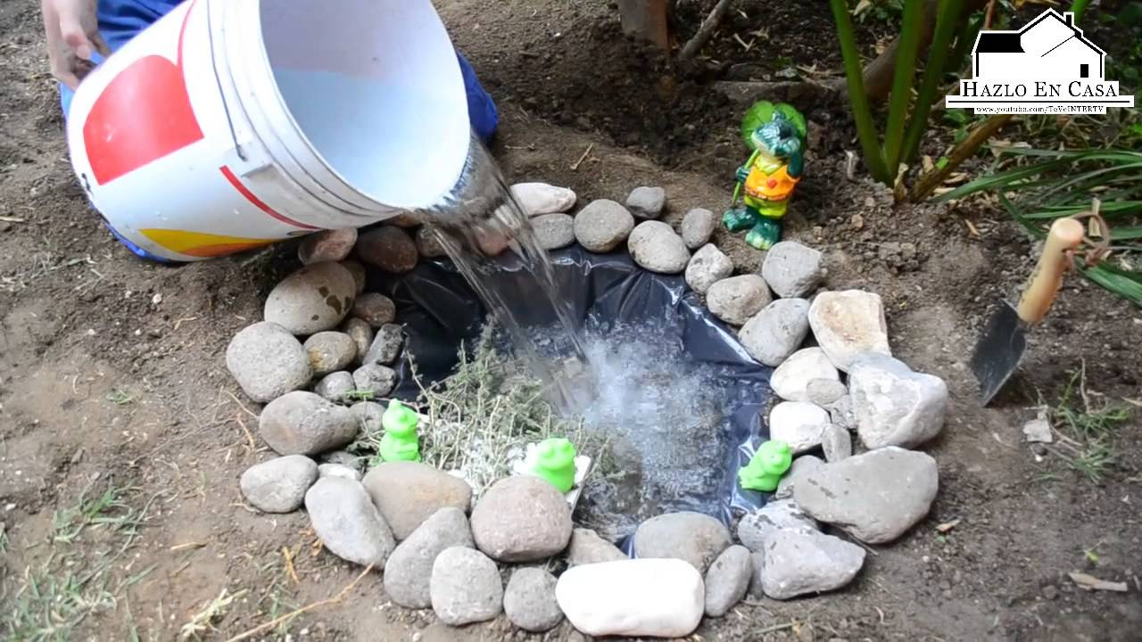 Hazlo en casa vie 15 mzo como hacer un estanque en el for Como arreglar un patio pequeno crear un jardin