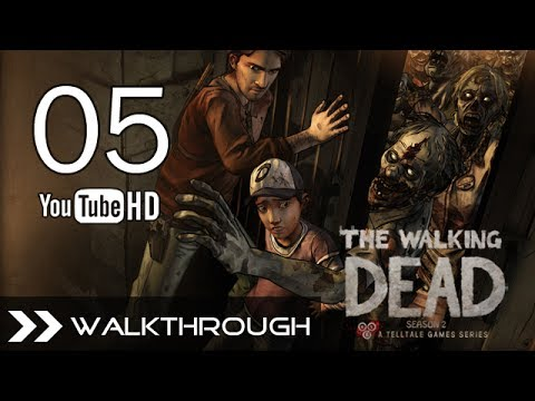 The Walking Dead Season 2 Episode 2 Walkthrough Gameplay Part 5 HD 1080p PC Full Game No Commentary