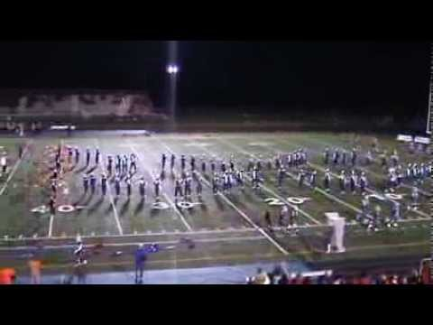 OOHS Marching Band Half Time Show #3 Applause   10/25/2013